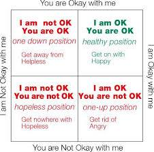 im ok your ok
